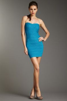 Wow Couture Strapless Bodycon Dress