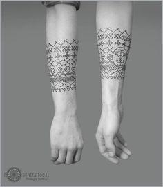 Lithuanian tattoo