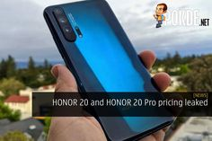 The price of the HONOR 20 and HONOR 20 Pro has just been leaked, with up to three variants expected for each model! Technology News, Quad, Model, Mathematical Model, Pattern, Modeling, Quad Bike