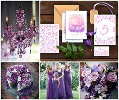 """Приглашения """"Палитра Заката"""" от Екатерины Савченко. Свадьба в цвете фиолет - лучший выбор для весенней и летней свадьбы."""