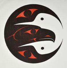 Pacific Spirit (1998) by Susan Point, Coast Salish (Musqueam) artist (SP1998-01)