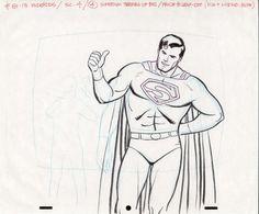 Alex Toth - Superfriends Superman