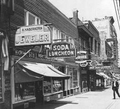 Webster & Fordham Road ca 1940