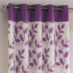 Purple Bedroom Curtains Magnificent Plain #stripe #siesta Ring  #eyelet Top Curtains Semi Blackout Design Ideas