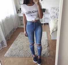 favorite outfits college summer women for 25 25 Favorite Women Summer Outfits for CollegeYou can find Outfits juvenil and more on our website Summer Outfits Women, Outfits For Teens, Spring Outfits, Trendy Outfits, Fashion Mode, Teen Fashion, Fashion Outfits, Womens Fashion, Travel Fashion