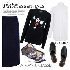 """""""A playful classic"""" by ifchic ❤ liked on Polyvore featuring Atea Oceanie, Markus Lupfer, Dear Frances and Mohzy"""