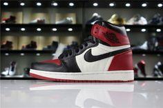 pretty nice 5cb52 8cd9d High Quality Air Jordan 1 Retro High OG Bred Toe 555088-610 Nike Lebron,