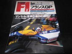 AYRTON SENNA Nigel Mansell F1 Ferrari McLaren HONDA 1992 Rare Magazine Japan 37