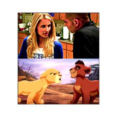 Glee/ Disney Parallels ❤ liked on Polyvore