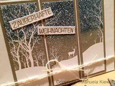 Snowy Scene #1 | Handmade by Papiria