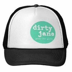 51517abdefe9f Teal is the New Black Trucker Hat by Dirty Jane Black Trucker Hat