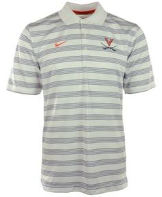 Nike Men's Virginia Cavaliers Dri-fit Preseason Polo Shirt - White S