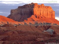 Wild Horse Butte at Sunrise, Goblin Valley State Park, Utah