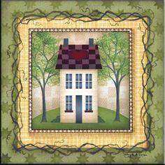 AA-Folk House 4 - Accent Tile