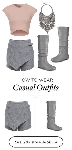 """Spring casual"" by whitewolfe on Polyvore featuring Journee Collection and DYLANLEX"