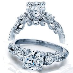 1.50 Carat (ctw) 14K White Gold Round Diamond Ladies Bridal Vintage 3 Stone Engagement Ring 1 1/2 CT