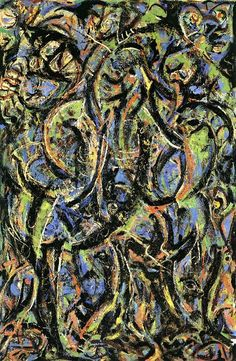 Gothic, 1944 by Jackson Pollock