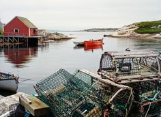 """""""The fishing town of Peggy's Cove is about as picturesque as it gets. Ocean Room, Ocean Art, New England Cruises, Famous Lighthouses, Places In Florida, East Coast Road Trip, Nautical Wall Art, America And Canada, Water"""