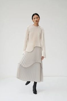 Beaufille Fall 2020 Ready-to-Wear Fashion Show - Vogue Fashion Mode, Minimal Fashion, 70s Fashion, Fashion 2020, Paris Fashion, High Fashion, Fashion Dresses, Fashion Tips, Fashion Design