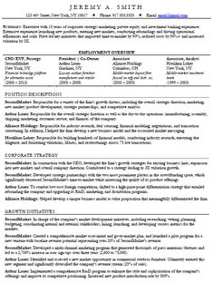 A skills based resume rather than job based BusinessCareer idea