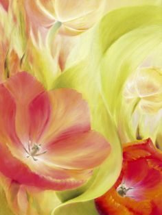 Abstract Floral, Decorative Art Canvas Art and Posters at Art.com