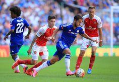 Eden Hazard v Arsenal