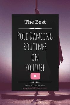 Best pole dance routines YouTube - Pole Dancing Routines, Pole Fitness Motivation, Pole Dance Inspiration