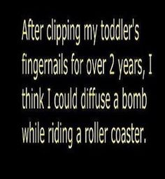 My wee guy isn't quite that wiggly, but I've seen some whose parents must feel this way :-D