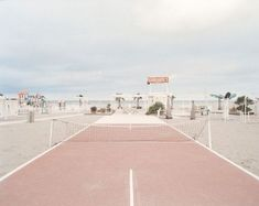Tennis on this Wes Anderson looking court
