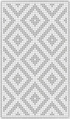 Tapestry Crochet Patterns, Knitting Paterns, Crochet Stitches Patterns, Doily Patterns, Knitting Charts, Stitch Patterns, Crochet Dollies, Fillet Crochet, Crochet Bear