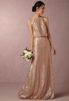 7738ca417a0 18 Best gold glitter bridesmaid dress s images
