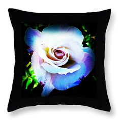 "pretty 14"" x 14"" Throw Pillow by Saifon Anaya.  Our throw pillows are made from 100% cotton fabric and add a stylish statement to any room.  Pillows are available in sizes from 14"" x 14"" up to 26"" x 26"".  Each pillow is printed on both sides (same image) and includes a concealed zipper and removable insert (if selected) for easy cleaning."