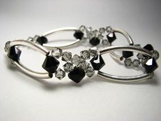 Check out our bracelets selection for the very best in unique or custom, handmade pieces from our shops. Swarovski, Handmade Jewelry, Europe, Free Shipping, Sterling Silver, Crystals, Bracelets, Etsy, Bangles