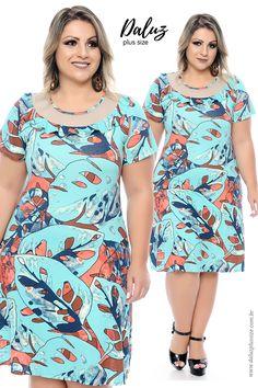 Vestido Plus Size - daluzplussize.com.br