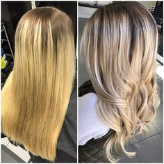 COLOR CONVERSION: 2 Steps To The Perfect Blonde - Hair Color - Modern Salon