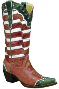 Corral Boots,  American Flag Boot by Corral