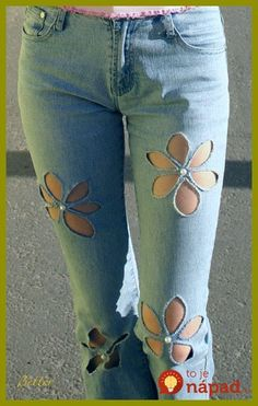 Sewing Jeans Hole Ideas For 2019 Denim Fashion, Womens Fashion, Curvy Fashion, Fashion Fashion, Street Fashion, Fashion Trends, Diy Vetement, Denim Ideas, Denim Crafts