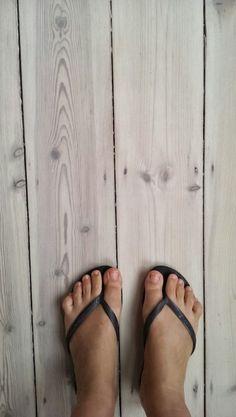 Bleached pine floor boards, Scandinavian