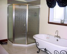 Shower Gallery Coastal Shower Doors, Bathroom Shower Panels, Shower Seat, Frameless Shower Doors, Custom Shower Base, Faux Brick Panels, Wooden Wall Panels, Modern Bathroom Design, Modern Design
