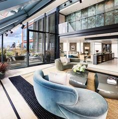 Neo Bankside bespoke curved sofas