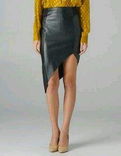 Asymmetrical Skirt. Love it!