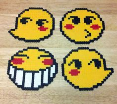 Ed emoticon coasters by ~RoninEclipse2G on deviantART