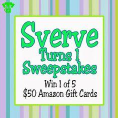 Sverve First Birthday Pinterest Sweepstakes. #SverveTurns1 #SverveTurns1