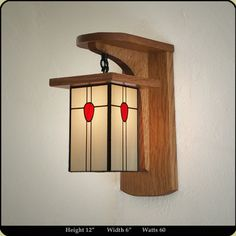 Arts and Crafts Sconce > Arts & Crafts Wall Sconces
