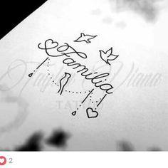 Tatuagem Mommy Tattoos, Baby Tattoos, Mini Tattoos, Body Art Tattoos, Small Tattoos, Nail Tattoo, Poke Tattoo, Tattoo Sketches, Tattoo Drawings