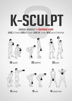 Kettlebell ExerciseWhat is Kettlebell Exercise? The kettlebell is not a new thing and it has been around for quite some time. Fitness Workouts, At Home Workouts, Fitness Motivation, Crossfit Workouts For Beginners, Muscle Workouts, Killer Ab Workouts, Circuit Training Workouts, Short Workouts, Training Motivation