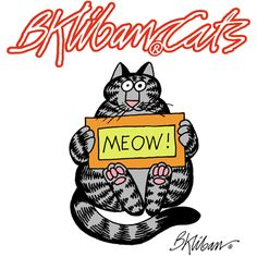 Kliban's Cats by B. Kliban: You will instantly recognize that each and every one of Kilban's drawings captures the essence of… cat. B. Kliban devoted off-moments in his studio to drawing his felines Nitty, Norton, Burton Rustle and Noko Marie the Snake. An editor friend convinced Kliban to let her take it to publishers, and in 1975 Workman published CAT, a huge bestseller which inspired an outbreak of cat love. Cat people of the world, rejoice -- and savor the pleasure of KLIBAN'S CATS.