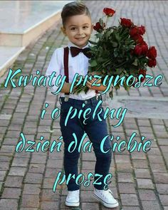 Good Morning, Humor, Celebrities, Mornings, Polish, Heart, Diy, Beautiful, Good Day