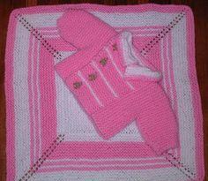 Ravelry: Jillian's Jaunty Jacket and Blanket set pattern by Mary C. Gildersleeve #knit, #knitting, #handknitting, #blanket, #baby, #BHWHknits, #MaryGknits, #design, #knitdesign