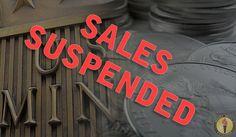 MARKET ALERT: Silver Eagle Sales Suspended